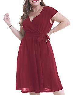 e5538df82d0e economico Vestiti da donna-Per donna Essenziale Taglie forti Pantaloni Nero  / A V
