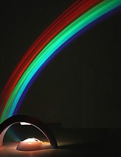baratos Luzes de presente-Criativo levou arco-íris colorido luzes da noite romântico projetor arco-íris lâmpada coway namorada romance em particular pequenos presentes