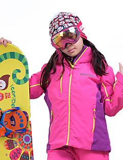 billiga Skid- och snowboardkläder-MARSNOW® Pojkar / Flickor Skidjacka Vindtät, Vattentät, Varm Camping / Vintersport 100 % bomullschenilj Vindjackor / Softshell-Ljuduttagor / Varma överdelar Skidkläder