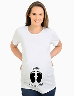 tanie Topy-T-shirt Damskie Moda miejska Kreskówki