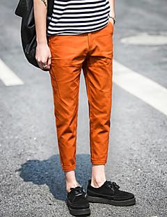 billige Herrebukser og -shorts-menns pluss størrelse chinos bukser - solid farget lyseblå