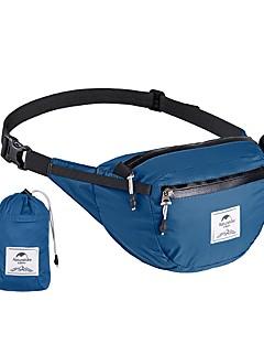 billiga Ryggsäckar och väskor-Naturehike 6 L Lättpackbar ryggsäck / Midjeväska - Regnsäker, YKK-dragkedja Utomhus Camping, Resor Nylon Svart, Blå, Grå