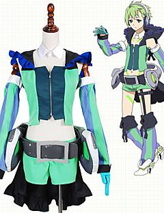 """billige Anime Kostymer-Inspirert av Programmene Frontier Cosplay Anime  """"Cosplay-kostymer"""" Cosplay Klær Lapper Topp / Hansker / Mer Tilbehør Til Herre / Dame"""