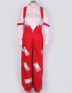 billiga Cosplay och kostymer-Inspirerad av Touhou Project Cosplay Animé Cosplay-kostymer cosplay Suits Mönstrad Blus / Byxor / Mer accessoarer Till Herr / Dam