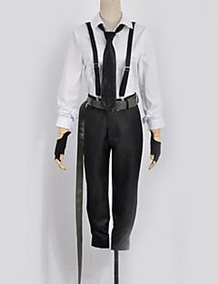 """billige Anime Kostymer-Inspirert av Bungo Stray Dogs Cosplay Anime  """"Cosplay-kostymer"""" Cosplay Klær Moderne Topp / Bukser / Slips Til Herre / Dame"""