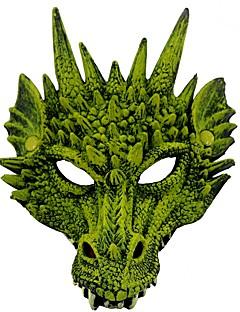 tanie Cosplay i kostiumy-Maska Zainspirowany przez Cosplay Smok Anime Akcesoria do Cosplay Maska Skóra Poliuretan Kostiumy na Halloween