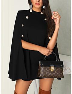 Недорогие Платья-Жен. Классический Оболочка Платье - Однотонный Выше колена