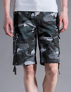 billige Herrebukser og -shorts-Herre Gatemote Shorts Bukser Kamuflasje