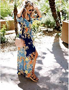povoljno Bikini i kupaći-Žene Plava Suknja Prikriti Kupaći kostimi - Cvjetni print Print One-Size