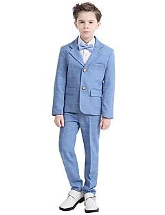67b8bf663d Azul cielo Poliéster   Algodón Vestido de Padrino - 5 Piezas Incluye Abrigo    Chalecos   Camisas