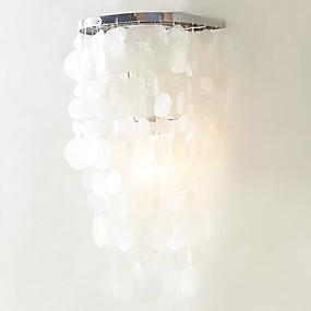 billige Sales-QINGMING® Moderne / Nutidig Soverom Akryl Vegglampe 110-120V / 220-240V 60W