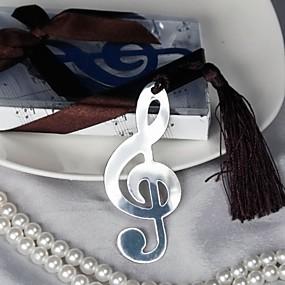 abordables Cadeaux Utiles pour Invités-Mariage / Enterrement de Vie de Jeune Fille Acier inoxydable Marque-page & ouvre-enveloppe Thème jardin