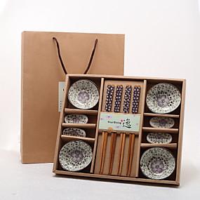 abordables Cadeaux Utiles pour Invités-Mariage / Anniversaire / Soirée de Fiançailles Poterie / Bambou Outils de cuisine Thème asiatique / Thème floral