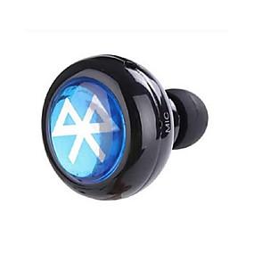 cheap Weekly Deals-In Ear Wireless Headphones Electrostatic Plastic Pro Audio Earphone Mini / with Microphone Headset