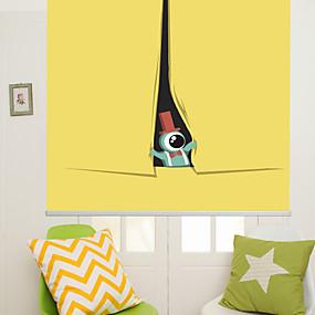 povoljno Sjenila-Cute Cartoon Lovely One Eyed Monster Roller Shade