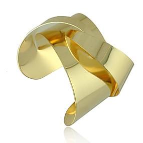 baratos Pulseira de Charme-Mulheres Pulseiras com Pendentes Pulseiras Algema Origami Importante senhoras Original Fashion Liga Pulseira de jóias Prata / Dourado Para Presentes de Natal Festa Diário Casual
