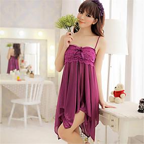 fd6c85a6b09575 Damen Sexy Babydoll & slips / Roben / Besonders sexy Nachtwäsche Solide