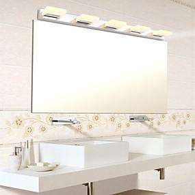 billige Vanity-lamper-Moderne / Nutidig Baderomsbelysning Metall Vegglampe IP44 90-240V 3W