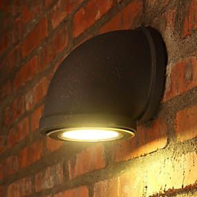 tanie Osvětlovací tělesa-Rustykalny Lampy ścienne Metal Światło ścienne 110-120V / 220-240V MAX 7W / LED zintegrowany