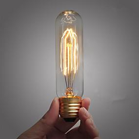 billige Glødelampe-1pc 25 W E26 / E26 / E27 / E27 T10 220-240 V