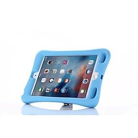 זול במקרה iPad-מגן עבור Apple עמיד בזעזועים / עם מעמד כיסוי מלא אחיד TPU ל iPad Mini 4