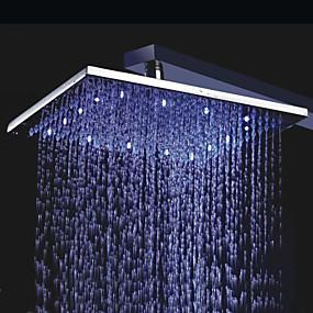 povoljno Popust Slavine-Suvremena Tuš s kišnim mlazom Chrome svojstvo - Tuš s kišnim mlazom LED, Tuš Head