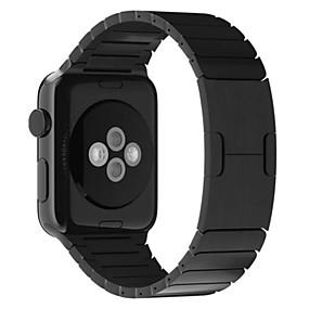 abordables Offres Quotidiennes-Bracelet de Montre  pour Apple Watch Series 4/3/2/1 Apple papillon Boucle Acier Inoxydable Sangle de Poignet