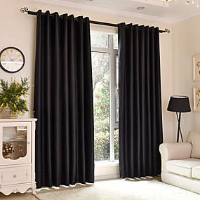 Χαμηλού Κόστους Κουρτίνες-Μοντέρνα Κουρτίνες συσκότισης κουρτίνες Two Panels Σαλόνι   Curtains / Υπνοδωμάτιο
