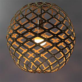 povoljno Ingyen szállítás-Privjesak Svjetla Uplight Others Wood / Bamboo Wood / Bamboo LED 220-240V Više boja Bulb not included / VDE / E26 / E27