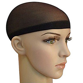 abordables Outils & Accessoires-Accessoires pour Perruques Matériel mixte Bonnets de Perruque Perles de tressage 2 pcs Quotidien Classique Noir Marron