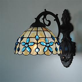 billige Tiffany Lamper-CXYlight Tiffany Vegglamper Metall Vegglampe 220V / 110V Max 60W / E26 / E27