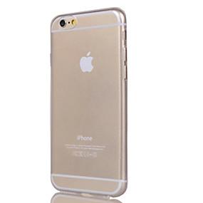 Χαμηλού Κόστους Ημερήσιες Προσφορές-tok Για Apple iPhone 7 / iPhone 7 Plus / iPhone 6 Plus Διαφανής Πίσω Κάλυμμα Μονόχρωμο Μαλακή TPU για iPhone 7 Plus / iPhone 7 / iPhone 6s Plus