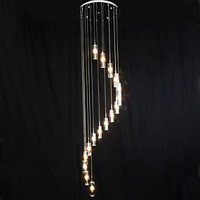 abordables Plafonniers-Grappe Lampe suspendue Lumière dirigée vers le bas Plaqué Cristal LED 110-120V / 220-240V Ampoule incluse / G4