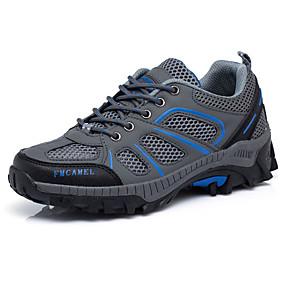 voordelige Damessneakers-Dames Sneakers Plateau Veters Tule Comfortabel Lente / Herfst Grijs / Groen / Roze