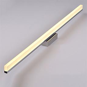 povoljno Zidna svjetla-80cm suvremeni 16w led ogledalo svjetiljke kupaonske svjetiljke 90-240v nehrđajućeg i akrilnog zidnog svjetla make-up rasvjeta
