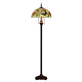 billige Tiffany Lamper-Tiffany Øyebeskyttelse LED Gulvlampe Til Harpiks 110-120V 220-240V
