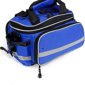 cheap Bike Trunk Bags-30 L Bike Rack Bag Waterproof, Dust Proof, Wearable Bike Bag Nylon Bicycle Bag Cycle Bag Cycling / Bike / Waterproof Zipper