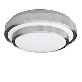billige Taklamper-Takplafond Omgivelseslys Børstet Metall LED 90-240V / 110-120V / 220-240V Pære Inkludert