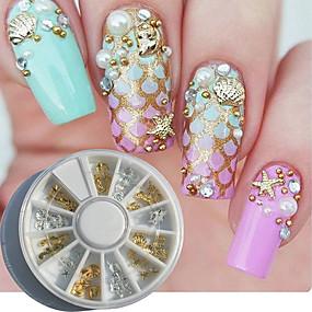 povoljno Ukrašavanje noktiju-1 pcs Nail Art Kit Za nail art Manikura Pedikura Dnevno Metalik / Moda