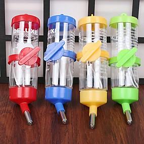 povoljno Oprema za male životinje-Zdjele i boce s vodom Vodootporno Bijela Zelen Plava Pink