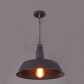 billige Hengelamper-Anheng Lys Omgivelseslys Malte Finishes Metall LED 110-120V / 220-240V Gul Pære ikke Inkludert / E26 / E27