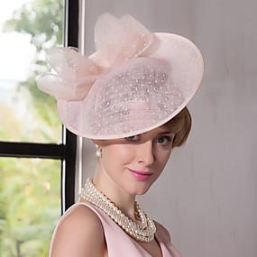 povoljno Kentucky Derby Hat-laneno čipke fascinatori kape glave klasičnog ženskog stila