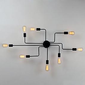 tanie Mocowanie przysufitowe-BriLight 8 świateł Podtynkowy Światło rozproszone Malowane wykończenia Metal Styl MIni, projektanci 110-120V / 220-240V Nie zawiera żarówek / E26 / E27