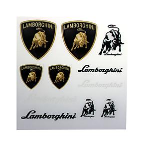 economico Accessori per esterno-Pvc autoadesivo decal badge emblema per lamborghini