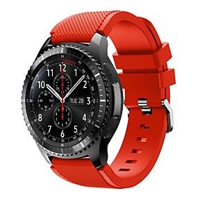 voordelige Telefoons en accessoires-Horlogeband voor Gear S3 Frontier Samsung Galaxy Sportband Silicone Polsband