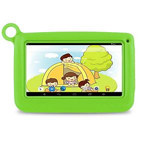 billige Tabletter-M713 7 tommers Android tablet (Android 4.4 1024 x 600 Kvadro-Kjerne 512MB+8GB) / 32 / TFT / Mikro USB / Tf Kort Spor / Hodetelefon Jack 3.5Mm