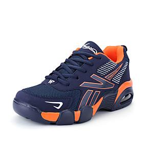 billige Herresneakers-Herre Komfort Sko Net Forår / Sommer Sneakers Løb Mørkeblå / Blå / Sort / Hvid / Atletisk / Snøring / udendørs / Lys soler
