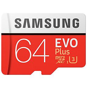 halpa Kiintolevyt ja tallennus-SAMSUNG 64Gt Micro SD-kortti TF-kortti muistikortti UHS-I U3