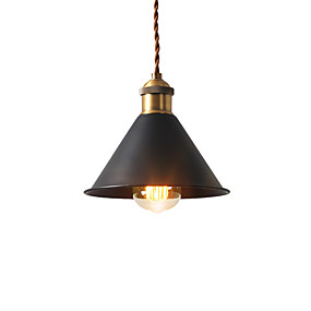 Vintage Mini Pendant Lights 1 Light Metal Shade Dining Room Hallway Kitchen Cafe Bars Lighting