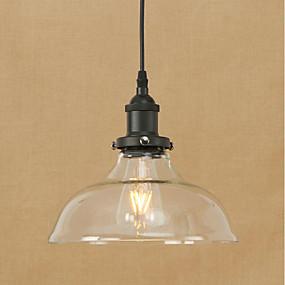 abordables Plafonniers-bol Lampe suspendue Lumière d'ambiance Plaqué Métal Verre Ampoule incluse, Protection des Yeux, Designers 200-240V / 110-120V Ampoule incluse / E26 / E27